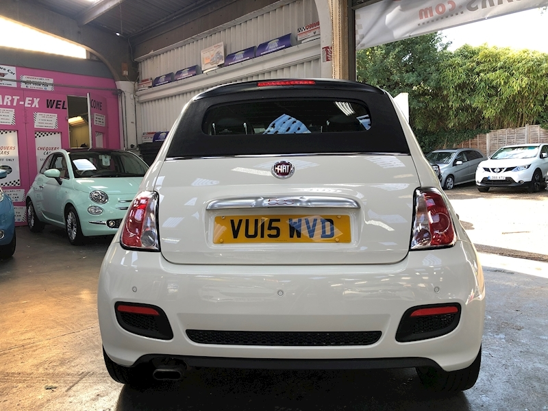 Fiat 500 500c 0.9 Twinair 85hp S Convertible - Large 5