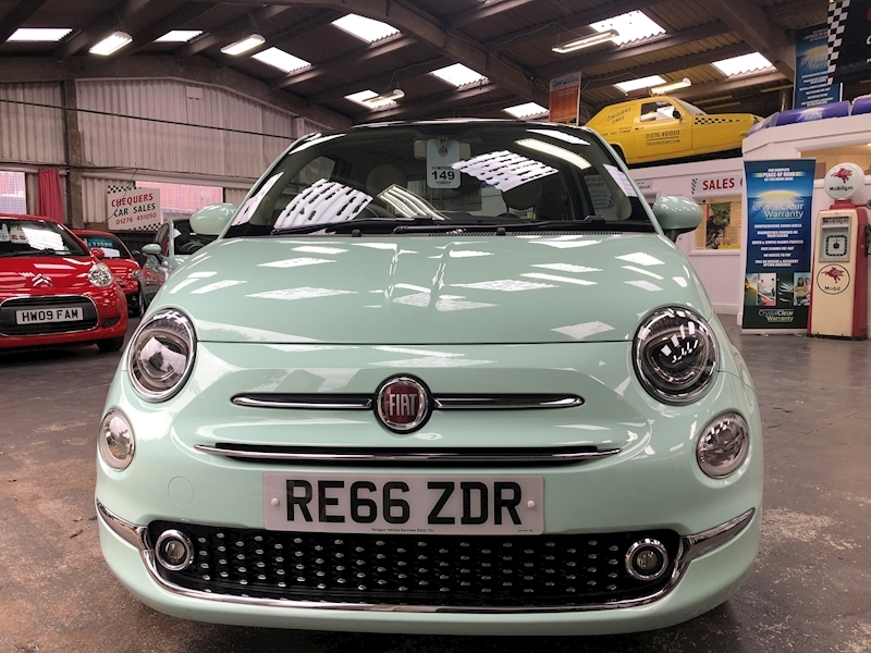 Fiat 500 500 My16 1.2 69hp Lounge My16 - Large 1