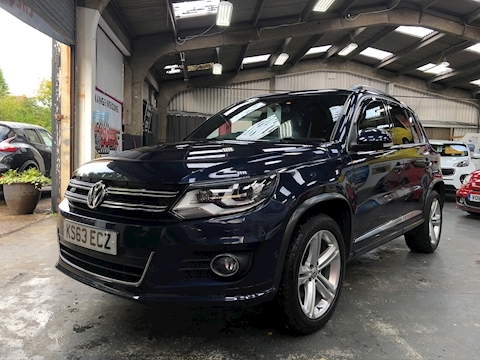 Tiguan R Line Tdi Bluemotion Tech 4Motion Dsg Estate 2.0 Automatic Diesel