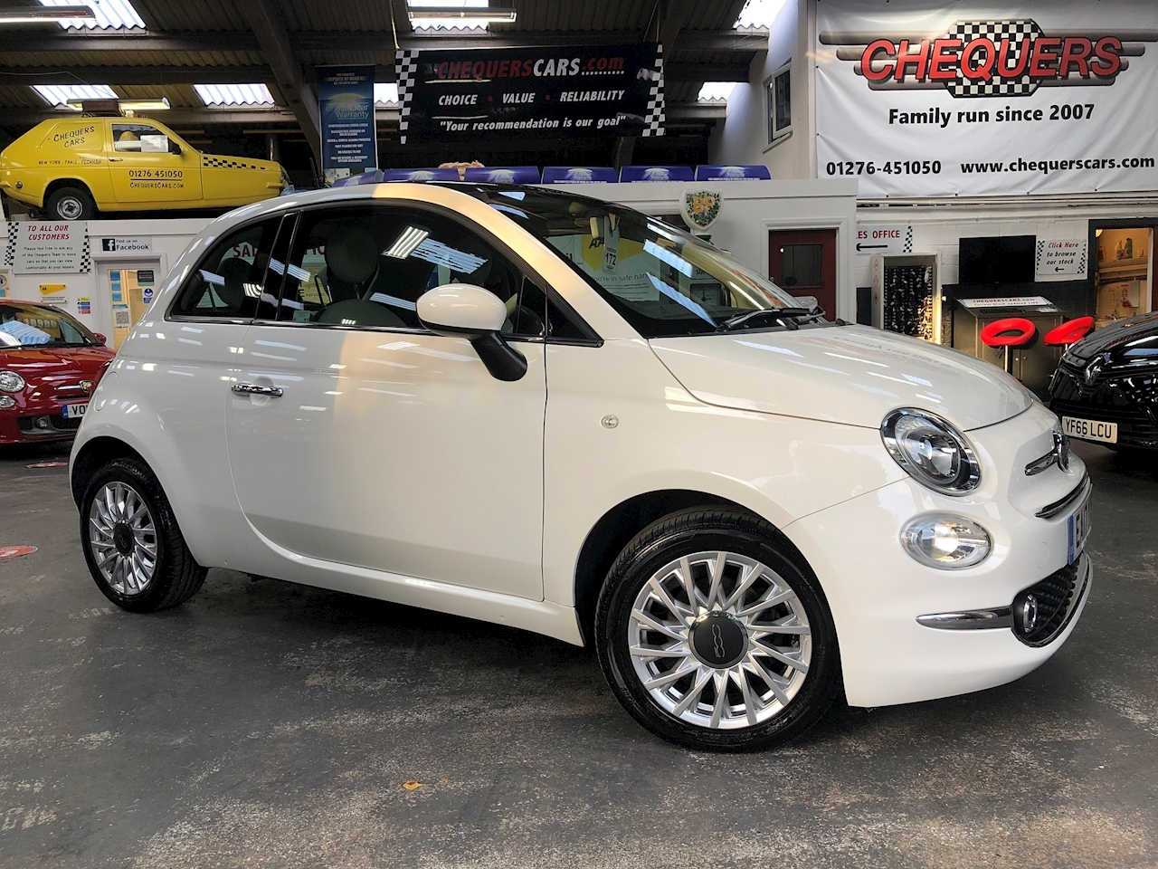 Fiat 500 500 My17 1.2 69hp Lounge Hatchback 1.2 Manual Petrol