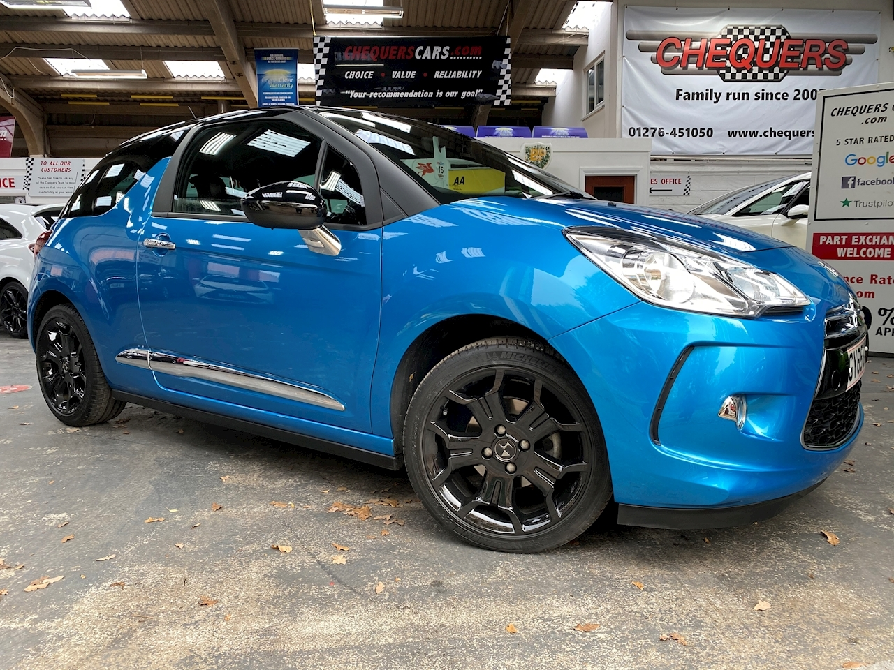 DS AUTOMOBILES DS 3 DStyle Hatchback 1.2 Manual Petrol