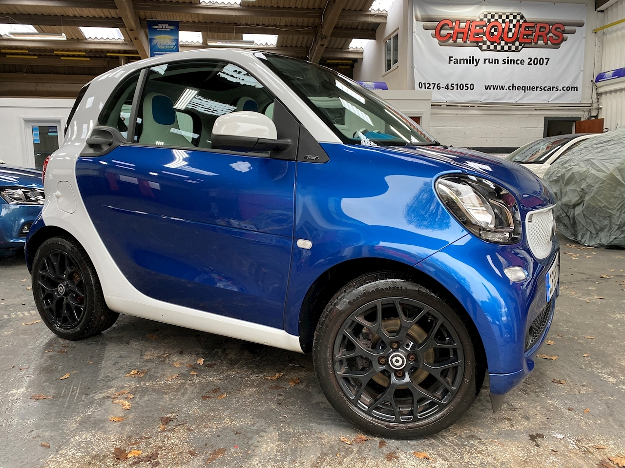 Smart fortwo Proxy Coupe 0.9 Twinamic Petrol