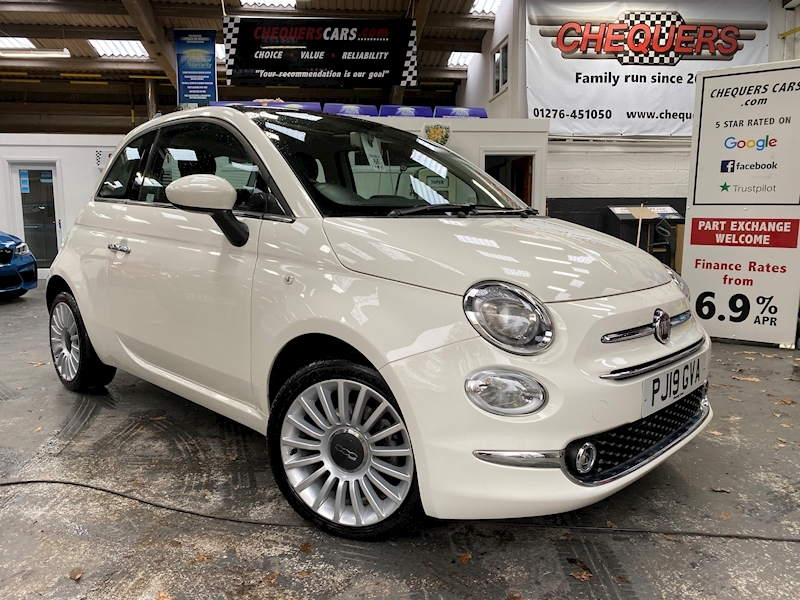 Fiat 500 1.2 69hp Lounge - Large 0