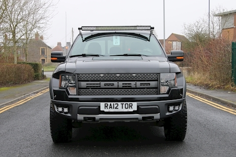 F150 Raptor JDM Roush Supercharged 6.2 4dr Pick-Up Automatic Petrol