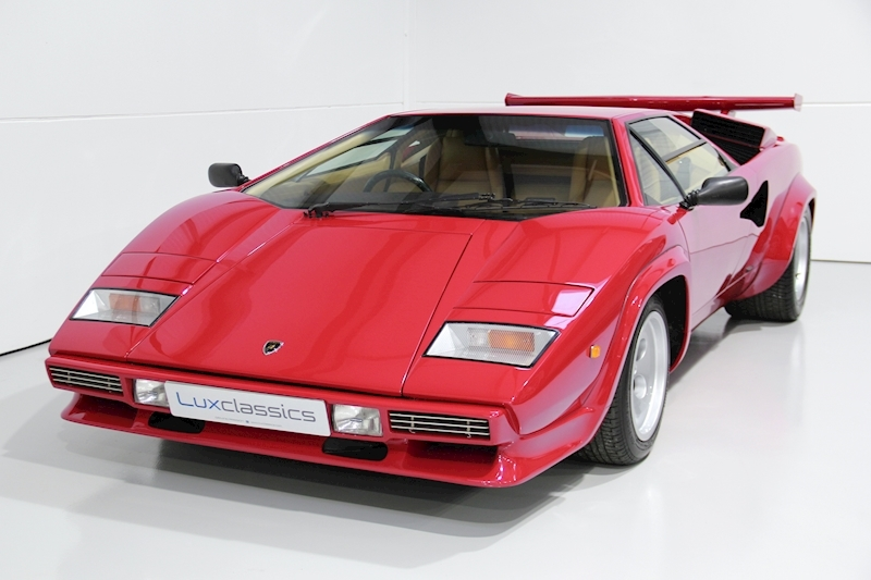 Countach LP500S 4.8 Coupe Manual Petrol
