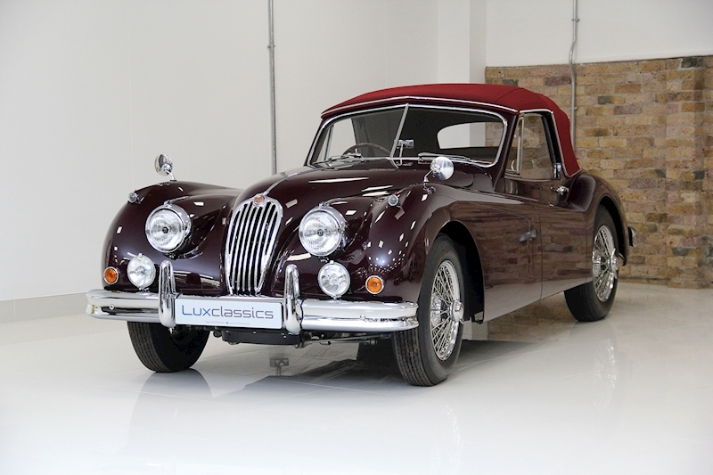 XK140 DHC 3.4 2dr Convertible 5 Speed manual Petrol