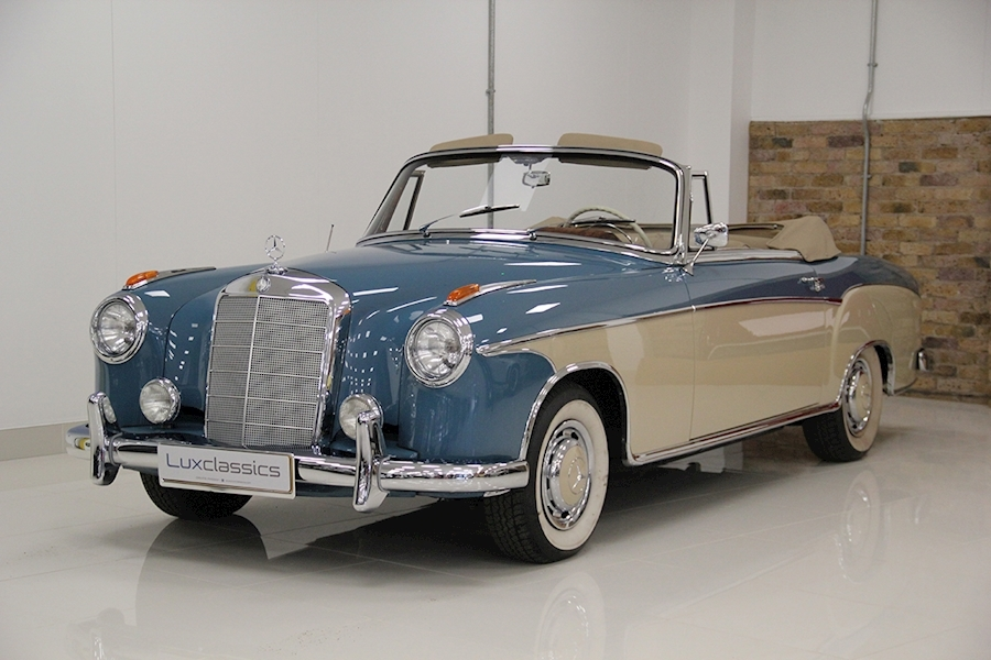 Mercedes-Benz 220S Cabriolet Convertible 2200 Manual Petrol