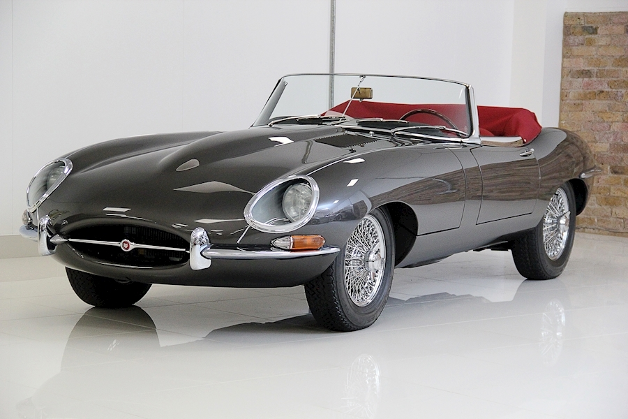 Jaguar E Type Series 1 Roadster 3800 5 Speed Manual Petrol
