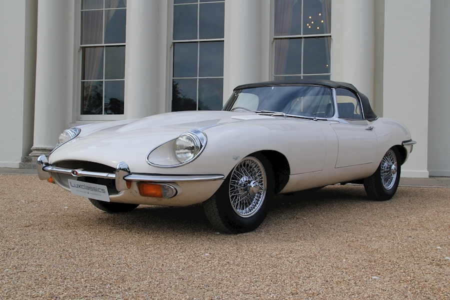 E Type S2 Roadster 4.2 2dr Open Two Seater (OTS) Manual Petrol