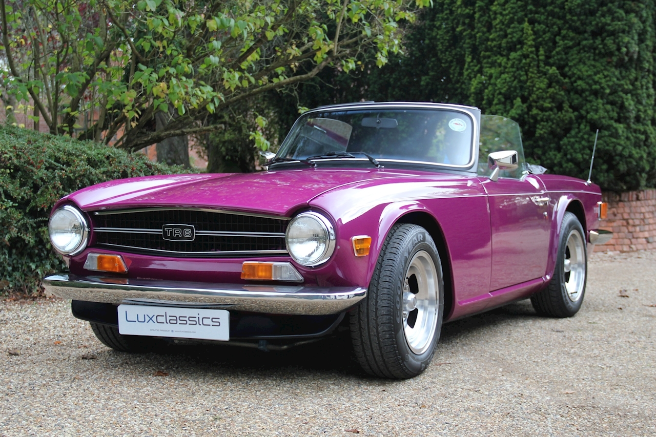 Used 1975 Triumph Tr6 Tr6 Roadster 25 Manual Petrol For Sale In