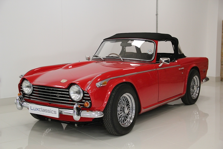 TR5 Roadster Convertible 2.5 Manual Petrol