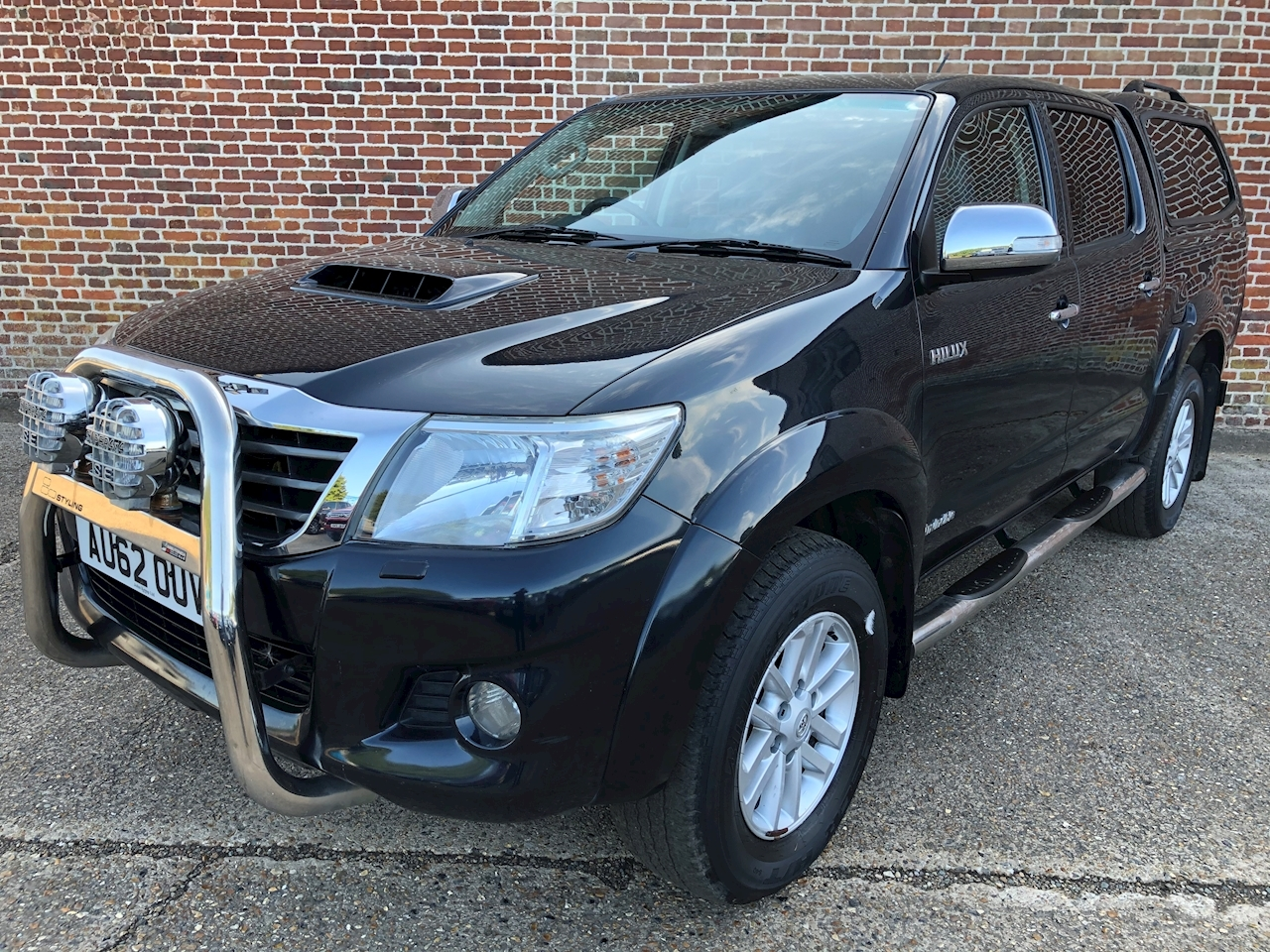 Toyota Hilux Invincible 4X4 D-4D Dcb 3.0 4dr Light 4X4 Utility Manual Diesel