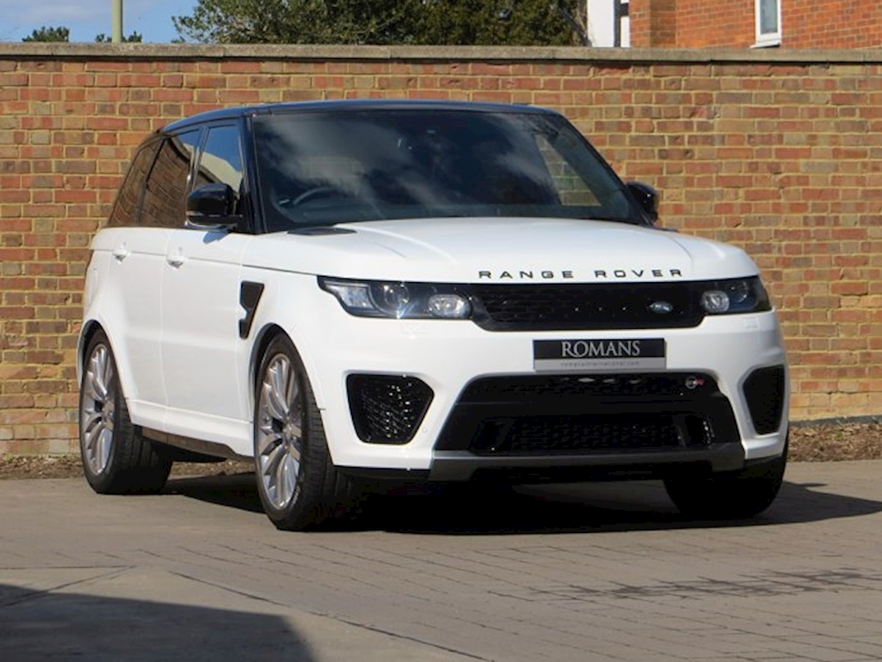 2015 used land rover range rover sport 5 0 v8 sc svr fuji white. Black Bedroom Furniture Sets. Home Design Ideas