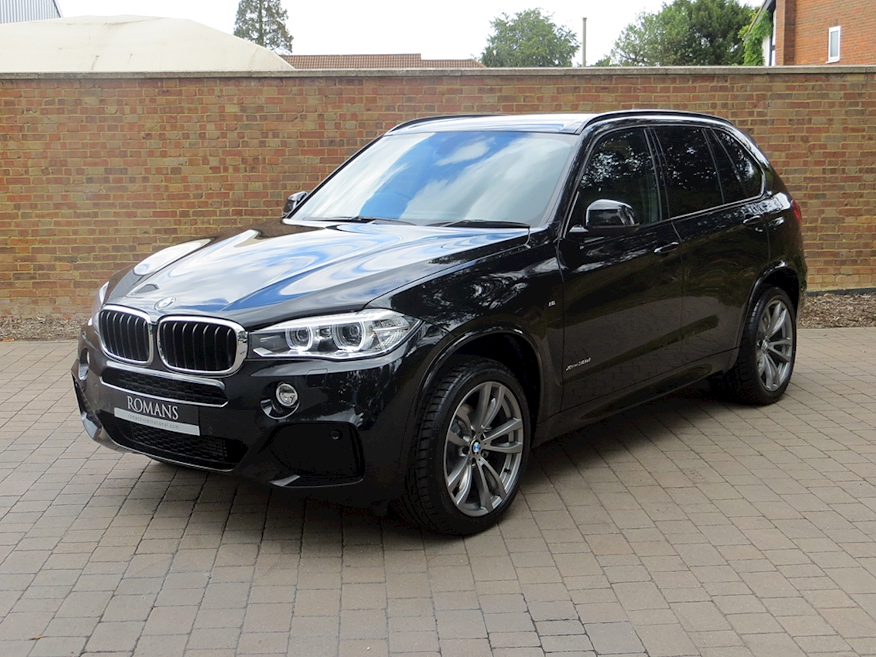2014 used bmw x5 xdrive30d m sport black sapphire. Black Bedroom Furniture Sets. Home Design Ideas