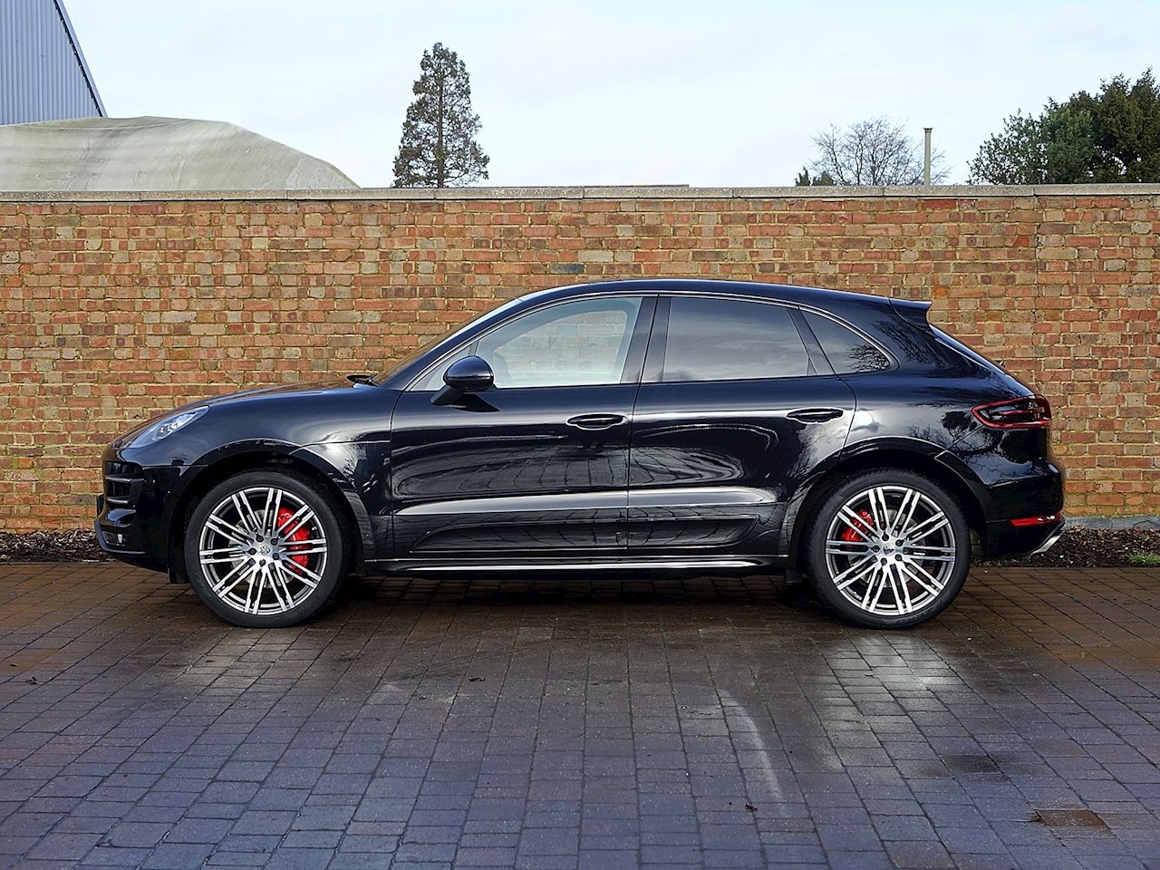 2015 Used Porsche Macan Turbo Jet Black