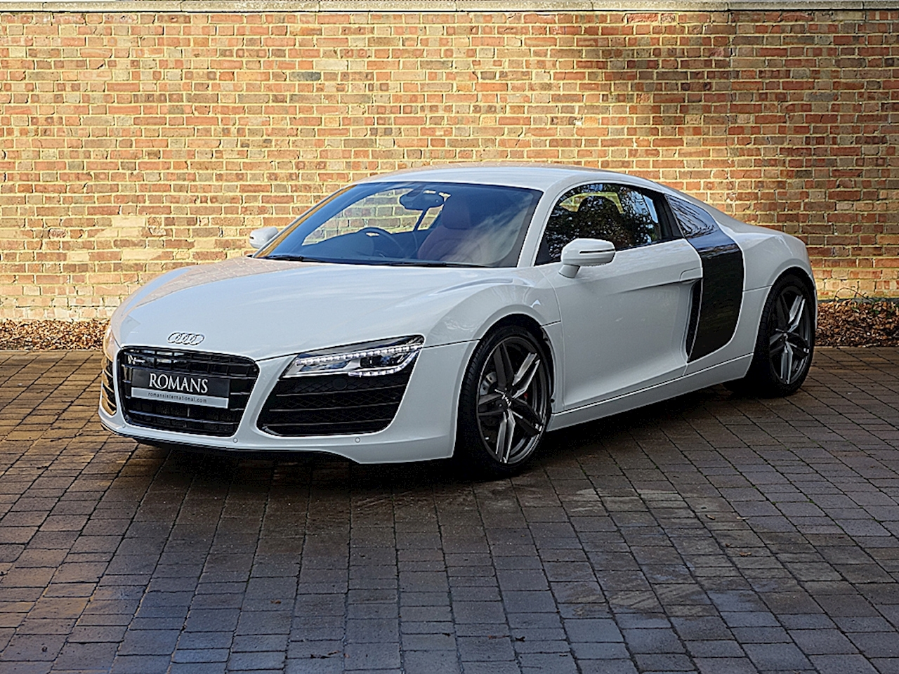 2014 used audi r8 ibis white. Black Bedroom Furniture Sets. Home Design Ideas