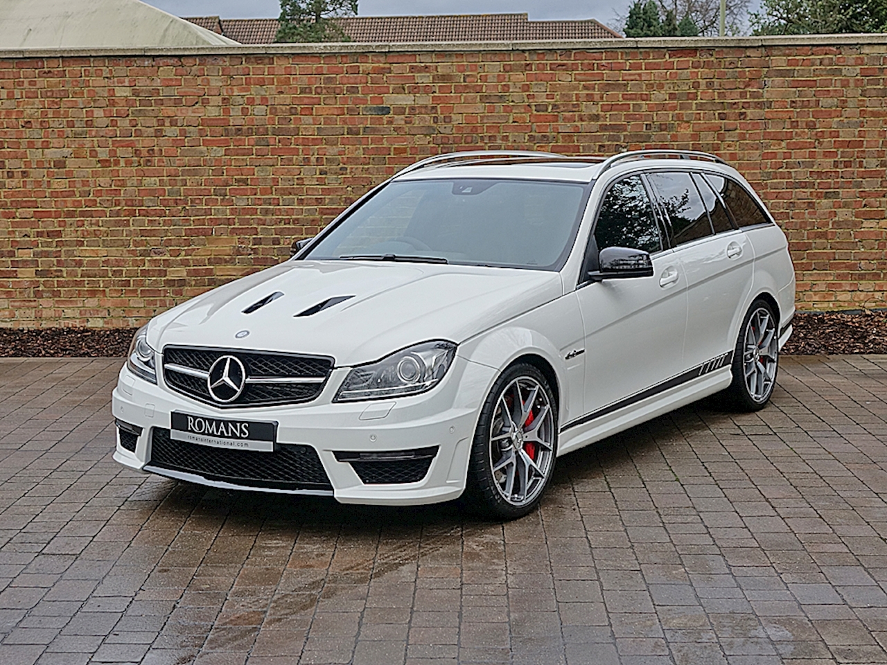 2013 used mercedes c63 amg estate edition 5 polar white. Black Bedroom Furniture Sets. Home Design Ideas