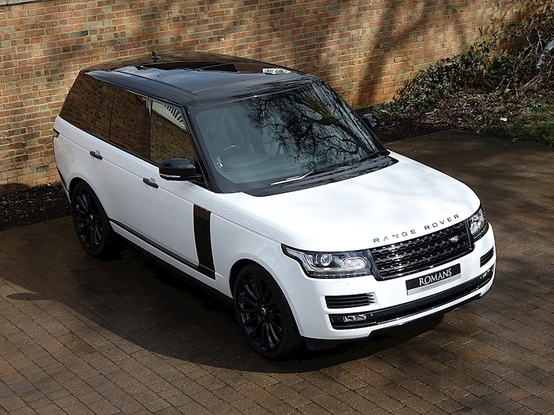 2015 Used Land Rover Range Rover Sdv8 Vogue Fuji White