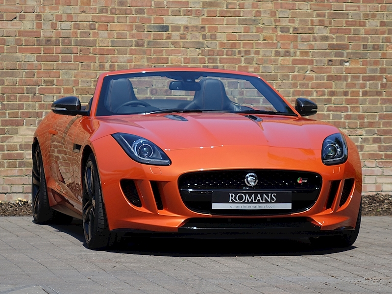 F-Type S V8 Convertible