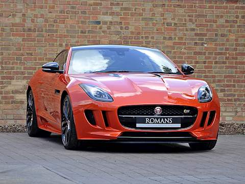 Jaguar F-Type S V6 Coupe