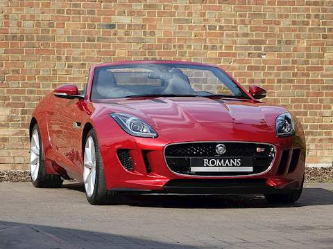 Jaguar F-Type V6 S Convertible