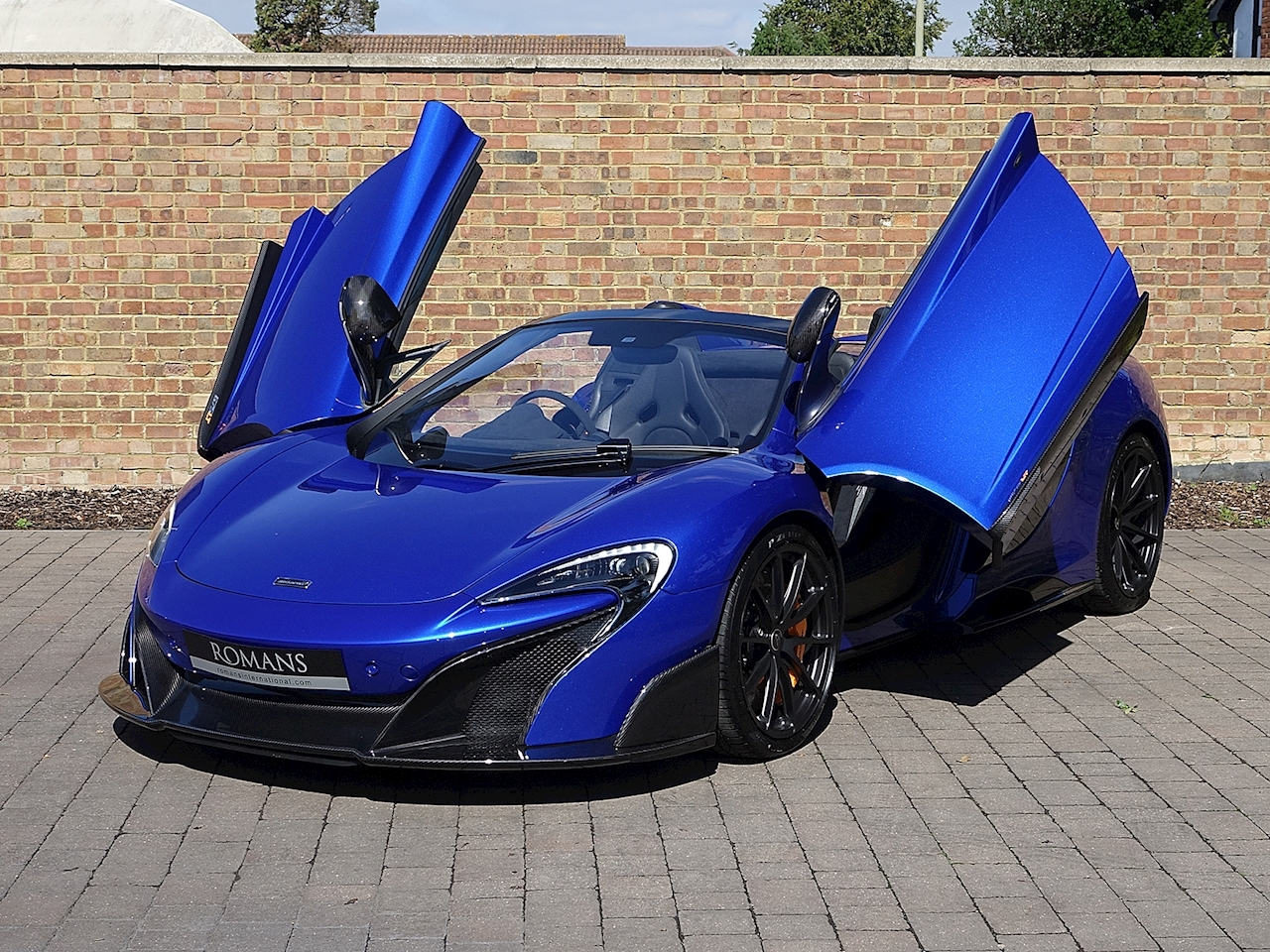 Mclaren 675lt For Sale >> 2016 Used McLaren 675 LT Spider | MSO Burton Blue