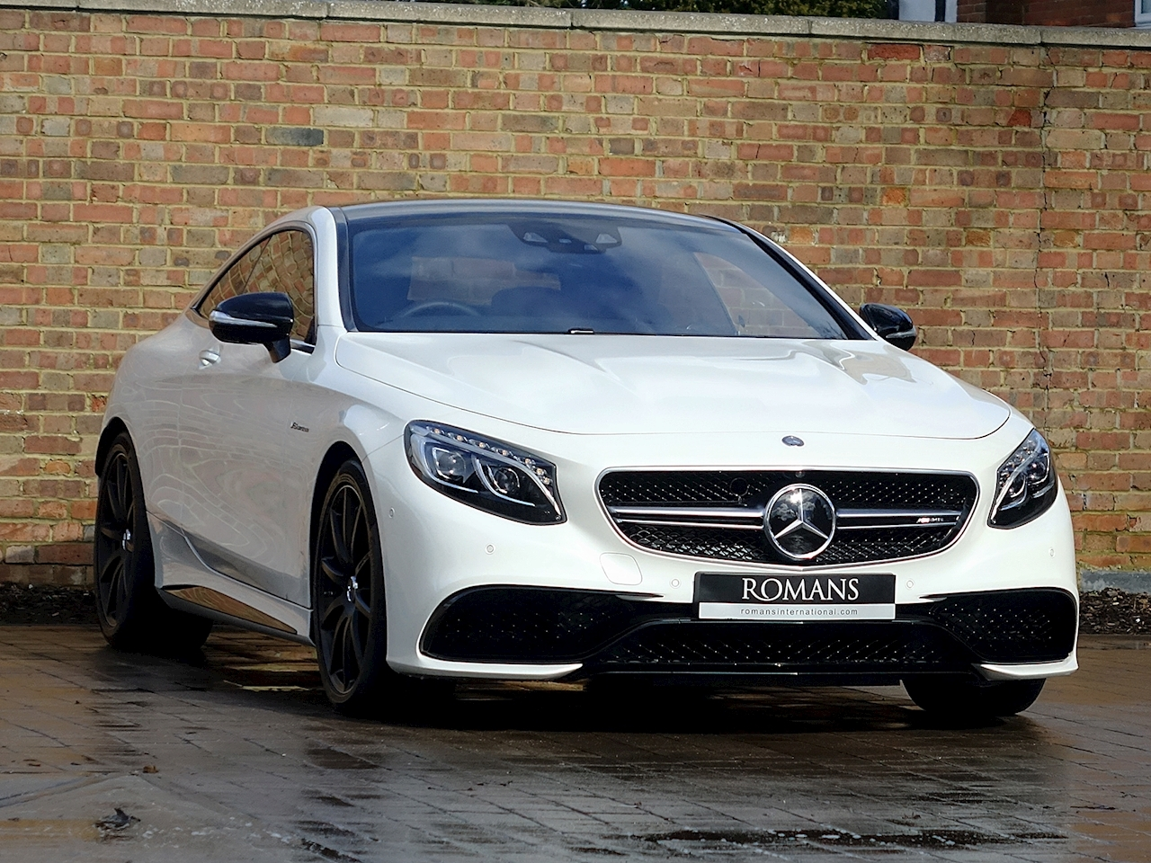 S63 Amg Coupe >> 2014 Used Mercedes Benz S63 Amg Coupe Designo Diamond White