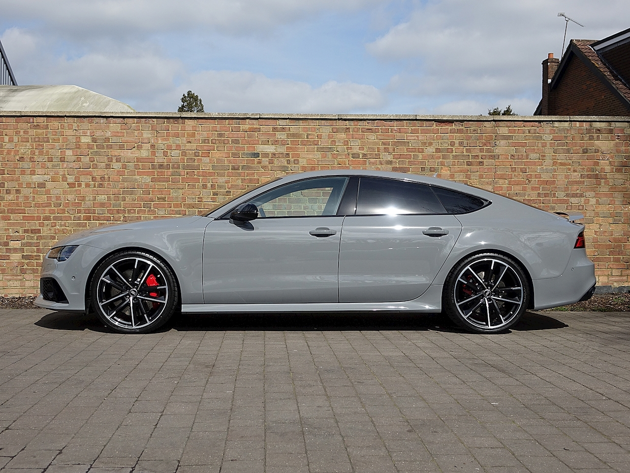2016 used audi a7 rs7 performance sportback tfsi quattro nardo grey. Black Bedroom Furniture Sets. Home Design Ideas