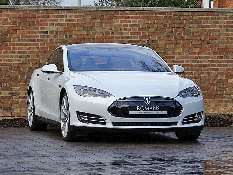 2015 Used Tesla Model S P85D | Pearl White