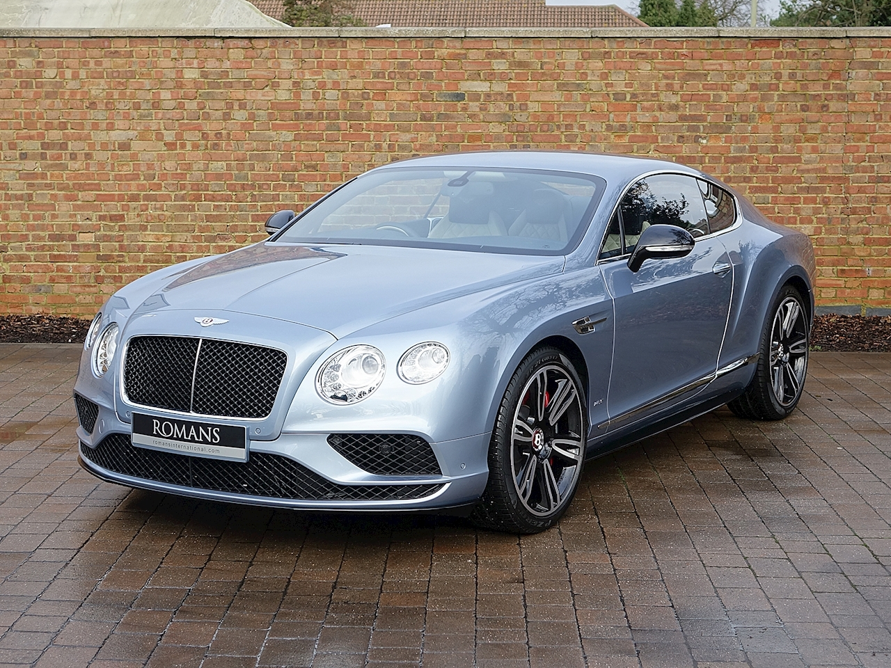 2017 Used Bentley Continental Gt V8 S Mulliner Fountain Blue