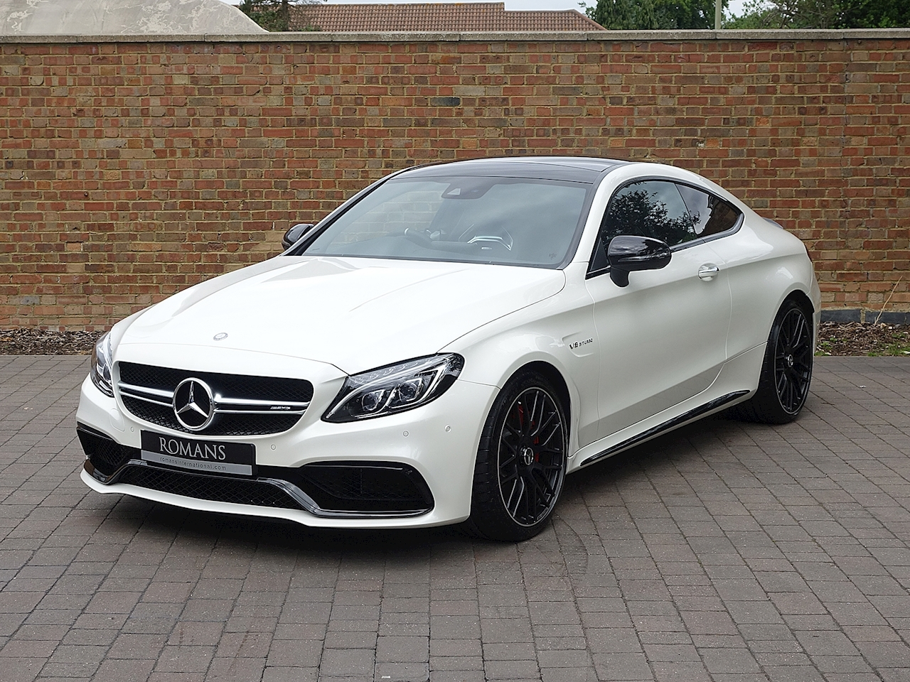 2016 used mercedes benz c63 s amg coupe diamond white bright. Black Bedroom Furniture Sets. Home Design Ideas