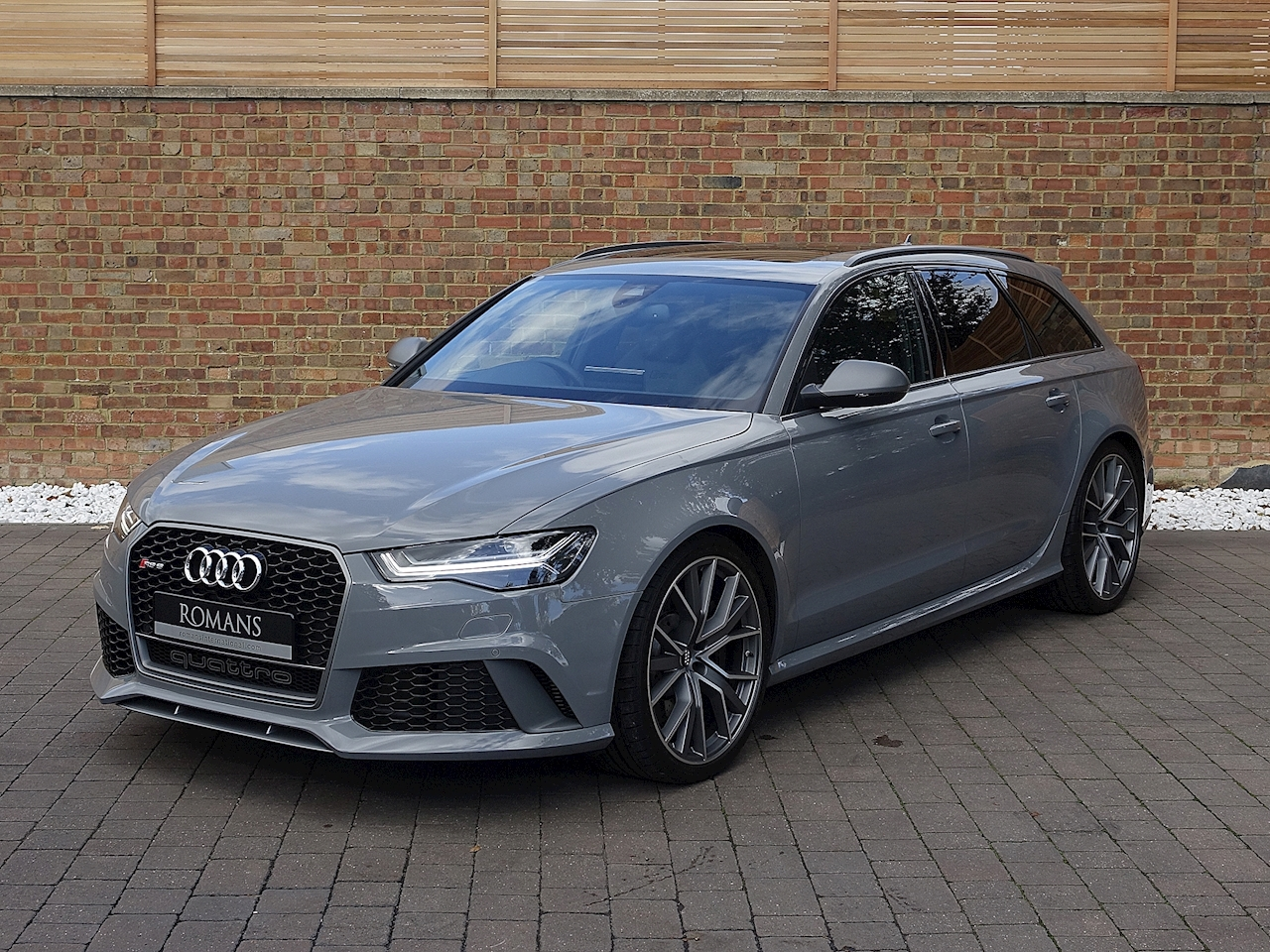 2017 used audi a6 rs6 avant quattro nardo grey. Black Bedroom Furniture Sets. Home Design Ideas