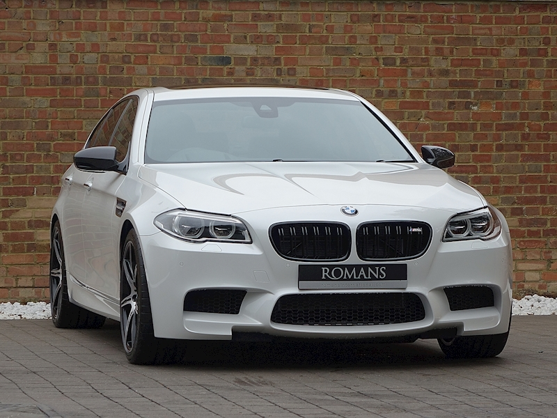 Used Bmw M5 >> 2016 Used Bmw M5 Competition Edition Alpine White