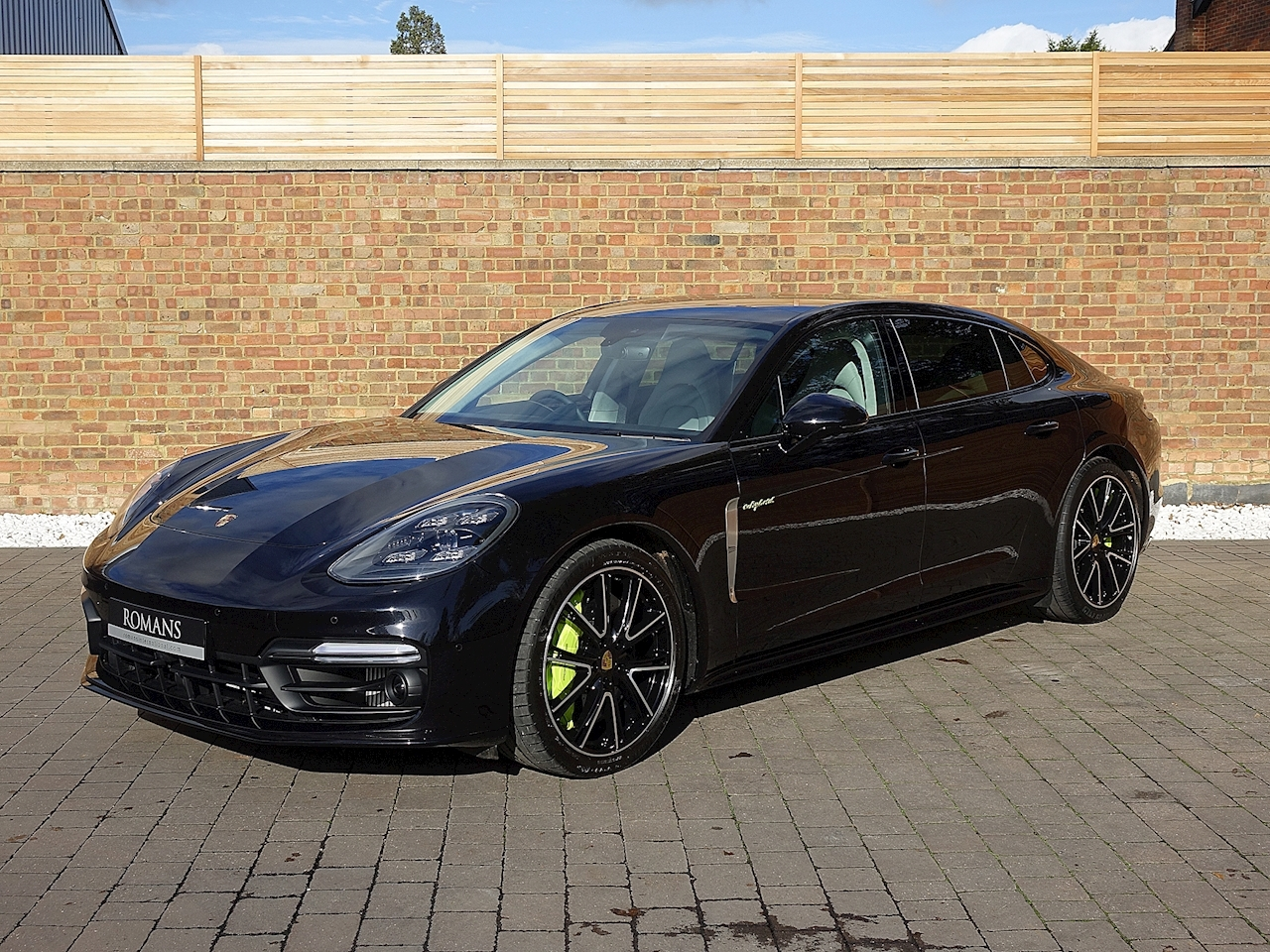 2017 used porsche panamera turbo s e hybrid jet black. Black Bedroom Furniture Sets. Home Design Ideas