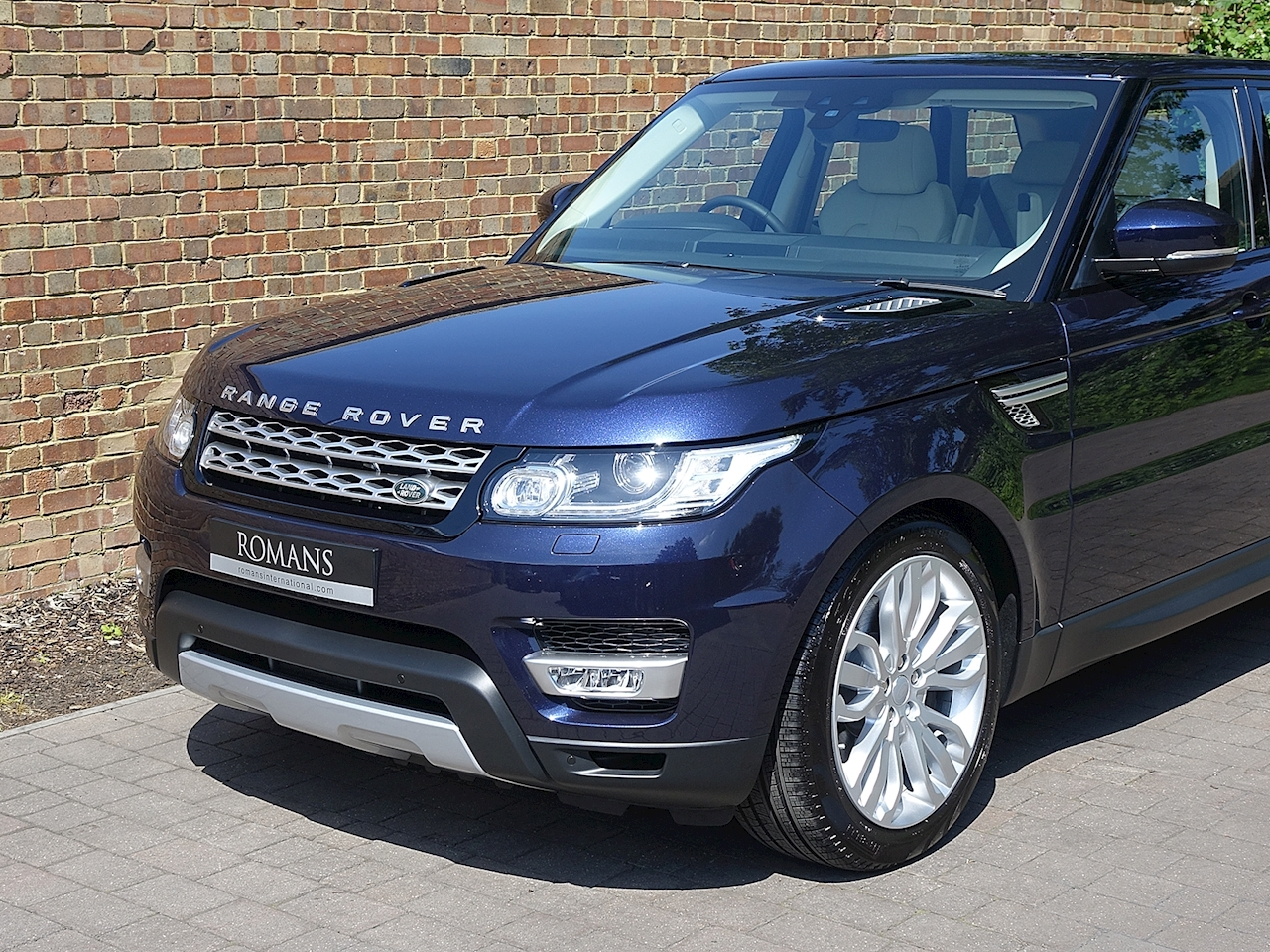2017 Used Land Rover Range Rover Sport Sdv6 Hse Loire Blue