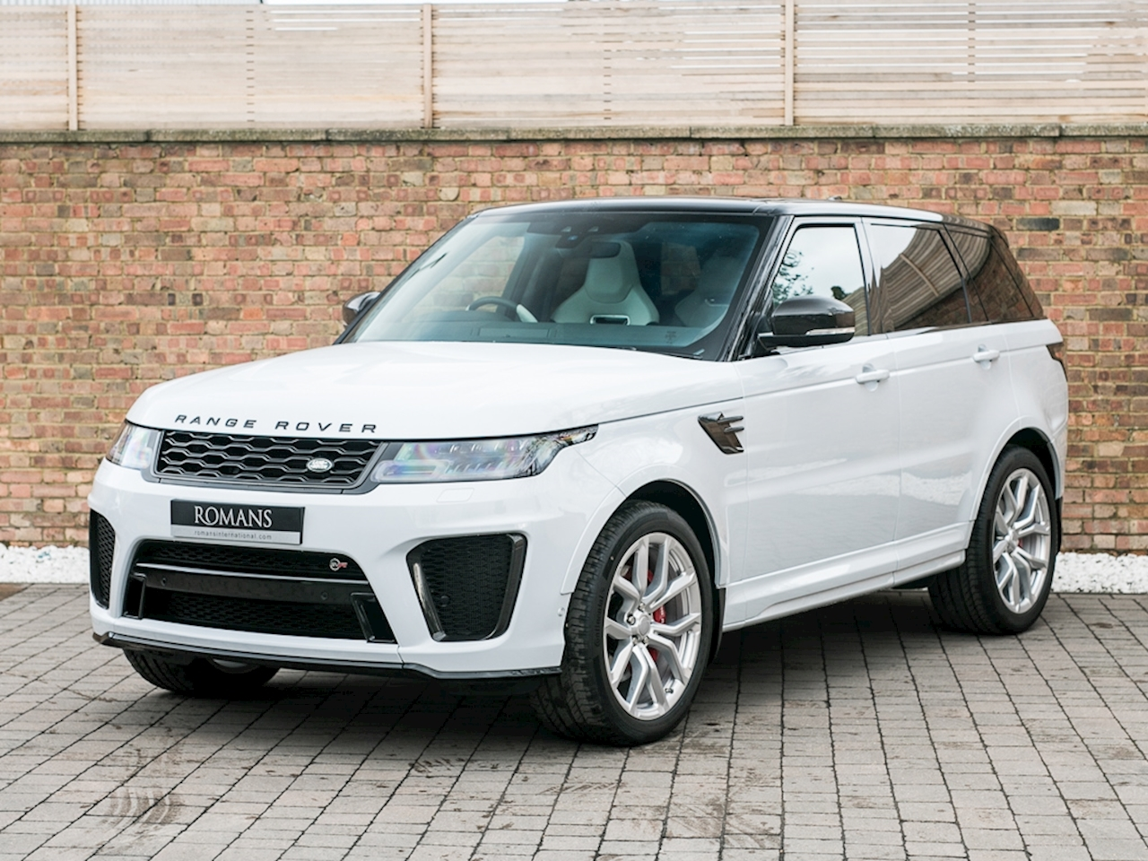 2018 used land rover range rover sport v8 svr yulong white. Black Bedroom Furniture Sets. Home Design Ideas