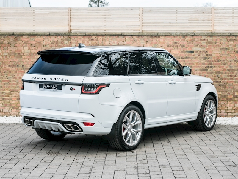 Range Rover Svr For Sale >> 2018 Used Land Rover Range Rover Sport V8 Svr | Yulong White