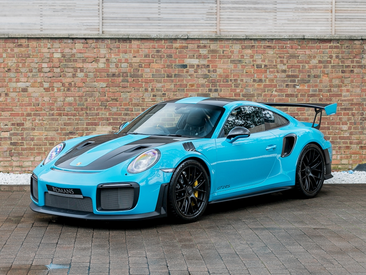 2018 Used Porsche 911 Gt2 Rs Pdk Miami Blue