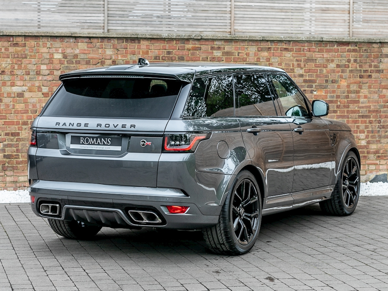 2018 used land rover range rover sport svr corris grey. Black Bedroom Furniture Sets. Home Design Ideas