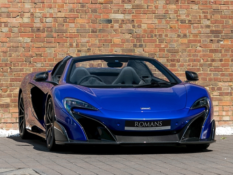 675LT Coupe Special Edition V8 2dr Spider
