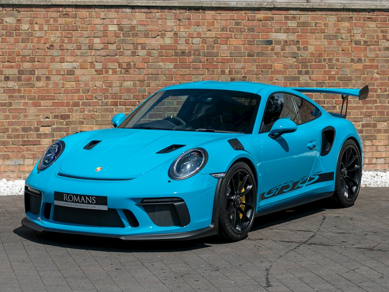 2018 used porsche 911 gt3 rs miami blue. Black Bedroom Furniture Sets. Home Design Ideas
