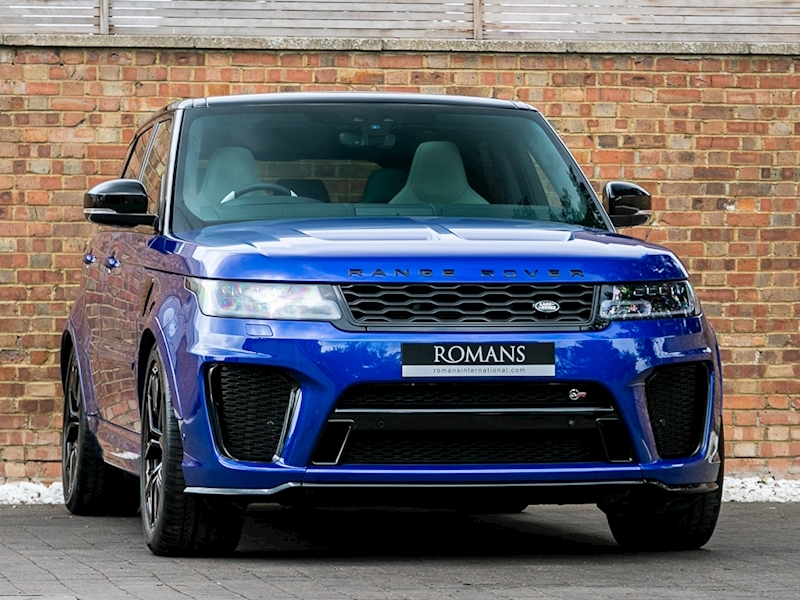 2018 Used Land Rover Range Rover Sport Svr Estoril Blue