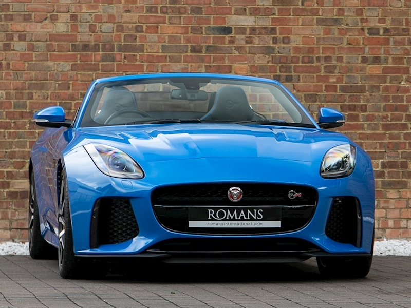 F-Type V8 Svr Convertible 5.0 Automatic Petrol