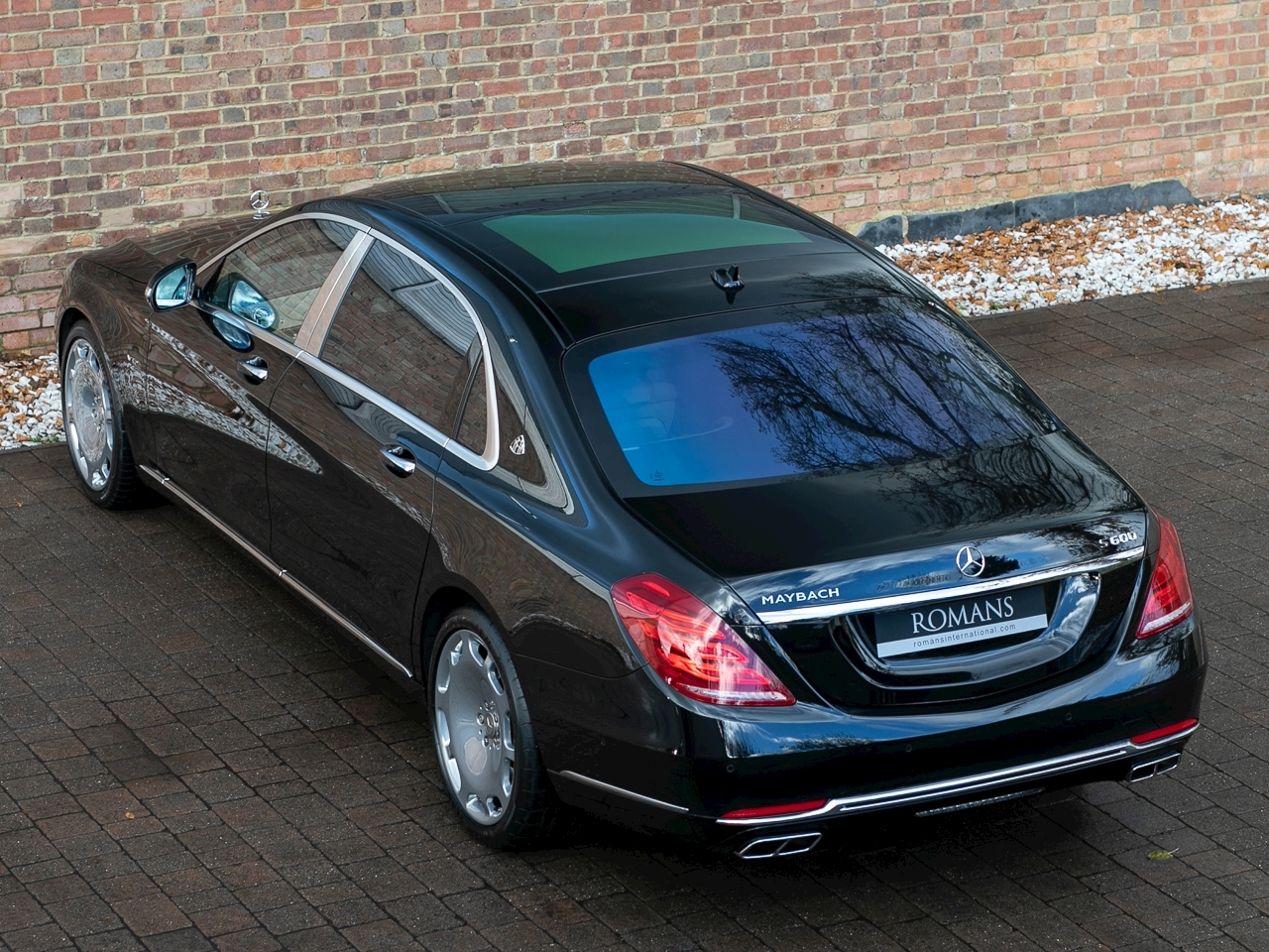 2017 used mercedes benz s class maybach s600 obsidian black. Black Bedroom Furniture Sets. Home Design Ideas