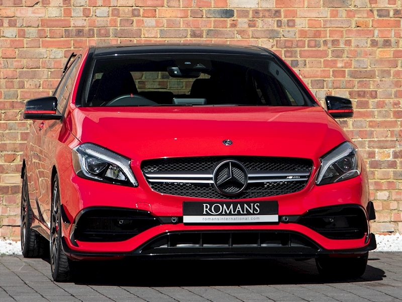 2017 Used Mercedes Benz A Class A45 Amg Jupiter Red