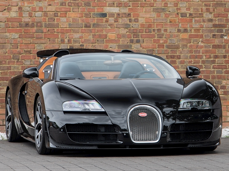 Veyron 16.4 Grand Sport Vitesse Convertible 7993 7 Speed DSG Petrol