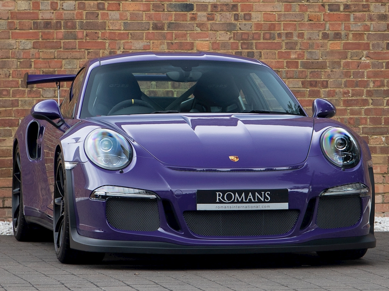 2016 used porsche 911 gt3 rs pdk ultra violet