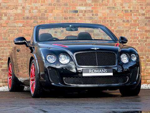 Bentley Continental GTC Supersports ISR