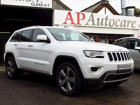 Grand Cherokee V6 Crd Limited Plus Estate 3.0 Automatic Diesel