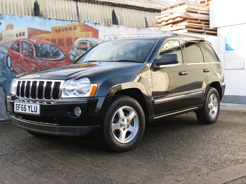 Grand Cherokee V6 Crd Limited Estate 3.0 Automatic Diesel